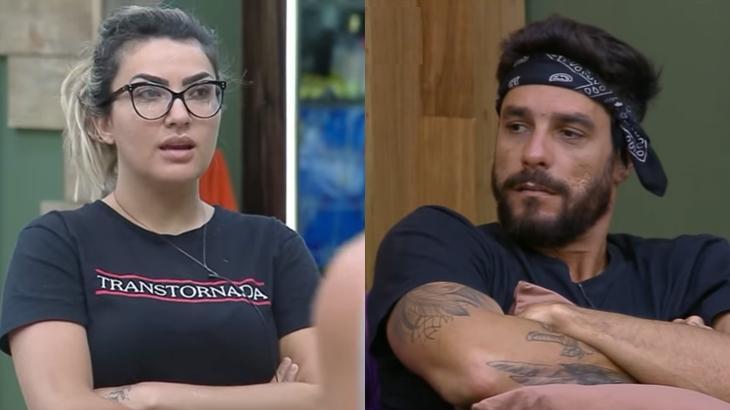 Diego Grossi rebateu comentário de Thayse Teixeira no reality show A Fazenda 2019