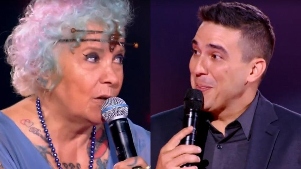 André Marques nega selinho a Áurea Catharina por conta da pandemia da Covid-19