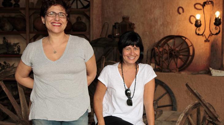 As autoras Thelma Guedes e Duca Rachid