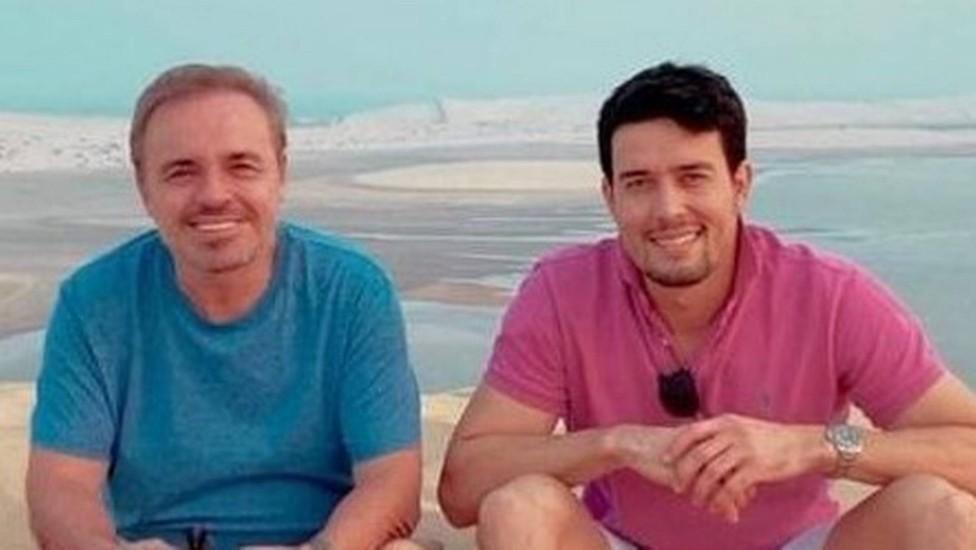 Gugu e Thiago Salvático