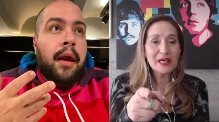 Tiago Abravanel foi criticado por Sônia Abrão