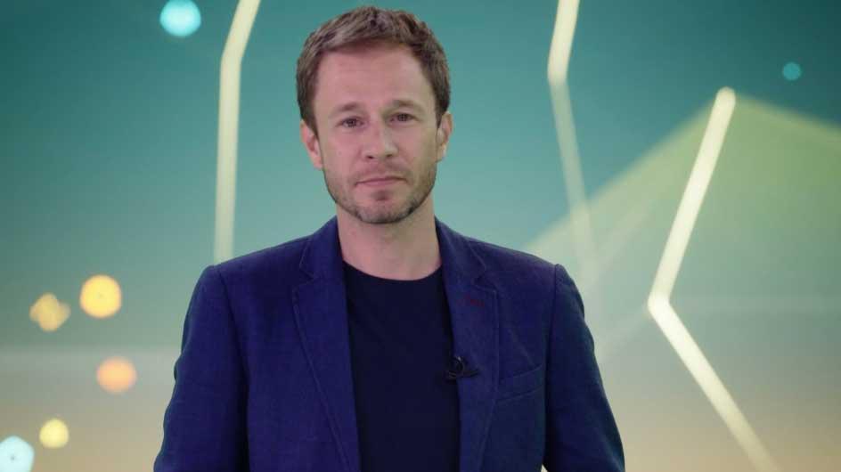 O apresentador Tiago Leifert