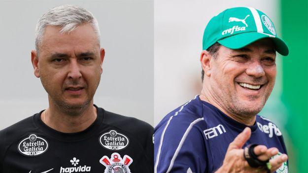 Tiago Nunes e Vanderlei Luxemburgo