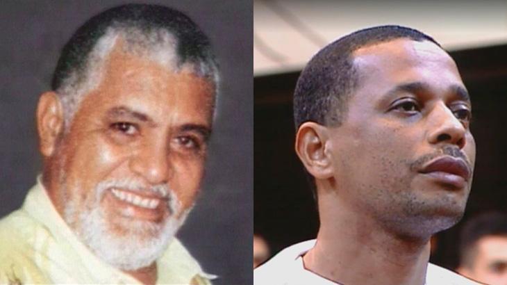 O jornalista Tim Lopes e o traficante Elias Maluco