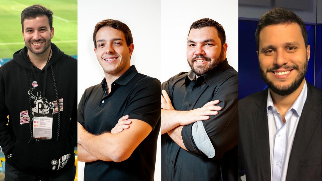Novos jornalistas e narrador da TNT Sports