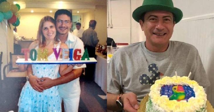 Ex-mulher de Tom Veiga, o Louro José, presta homenagem com mensagem inédita do ator