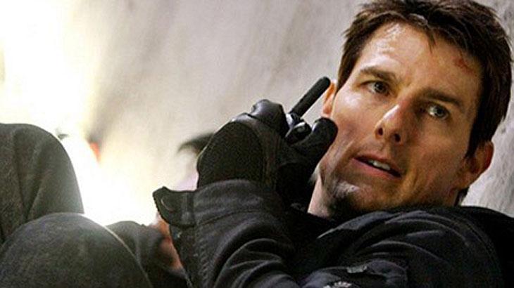 Tom Cruise em ação