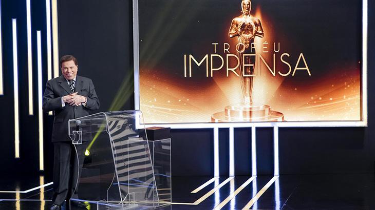 Silvio Santos no Troféu Imprensa