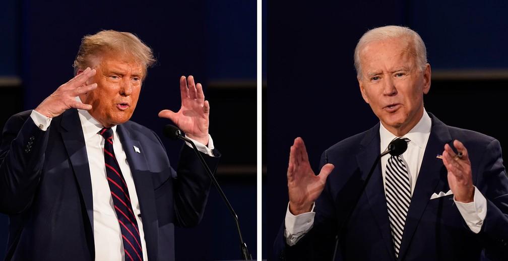 Tradutor da GloboNews revela vícios de Trump e Biden nos debates