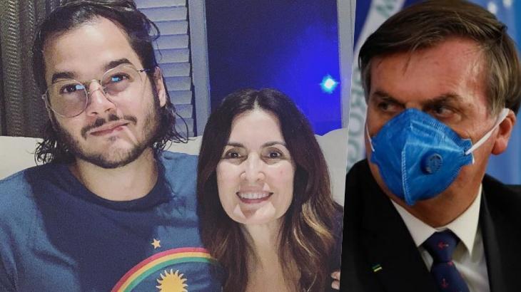 Túli Gadêlha, Fátima Bernardes e Jair Bolsonaro