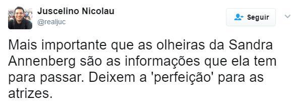 Após ignorar greve geral, Globo faz intensa cobertura e Sandra Annenberg chama atenção com olheiras