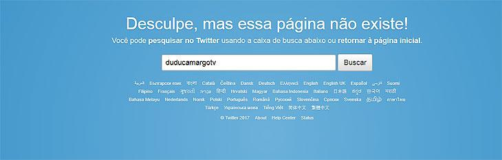 Dudu Camargo desativa perfil do Twitter após resgate de mensagens antigas