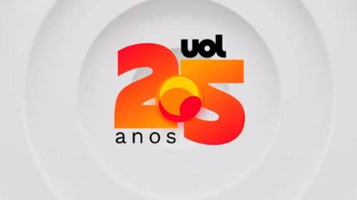 Logo do UOL 25 anos