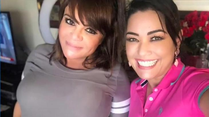 Milene Pavorô e Valentina juntas