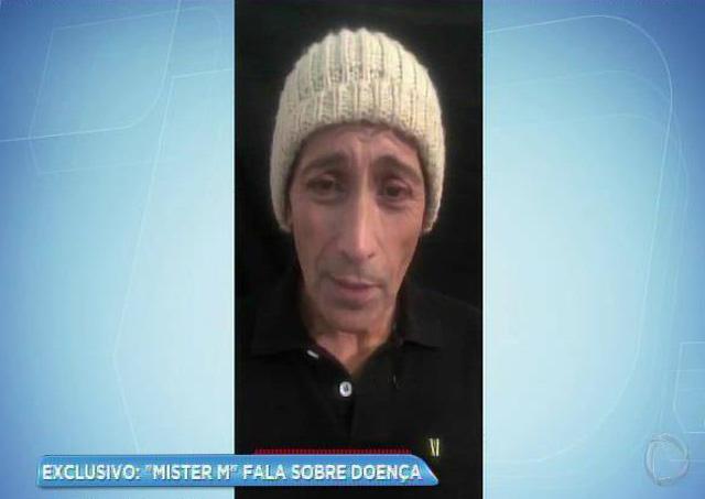 Mister M revela luta contra câncer na próstata e conta drama à programa da Record TV