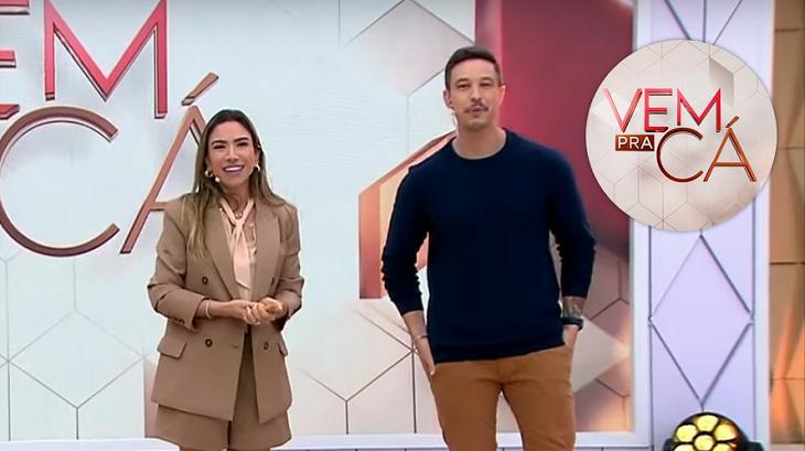 """Patrícia Abravanel ganha placa de \""""cala a boca\"""" ao vivo no SBT"""