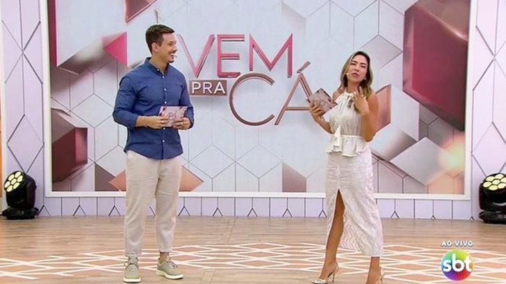 Patrícia Abravanel e Gabriel Cartolano
