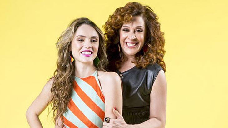 Isabelle Drummond e Claudia Raia