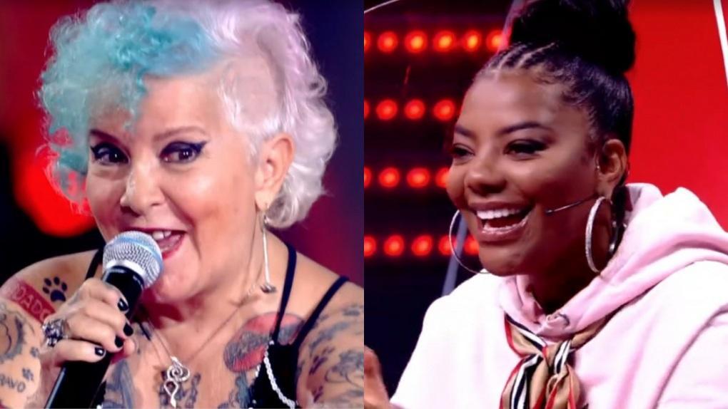 Áurea Catharina e Ludmilla no The Voice +