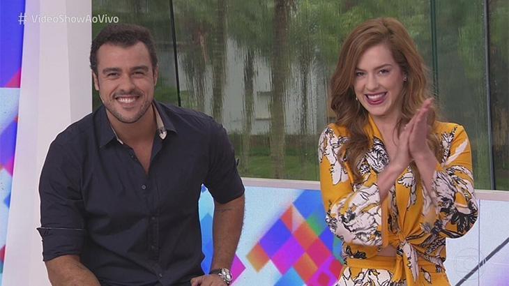 Joaquim Lopes e Sophia Abrahão