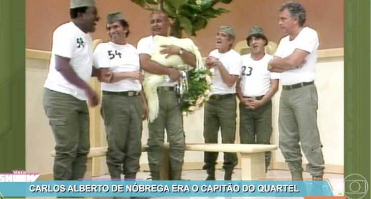 Carlos Alberto de Nóbrega aparece na Globo e surpreende telespectadores