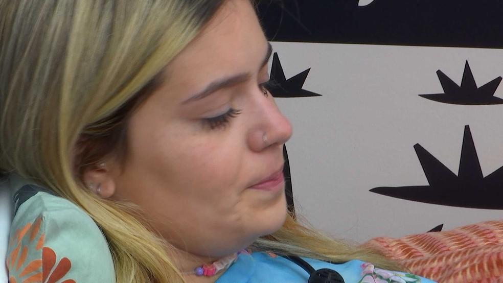 Viih Tube chorando no quarto cordel do BBB21