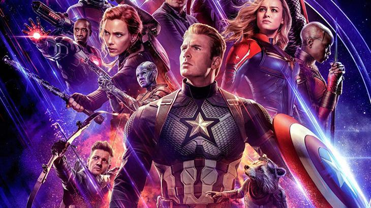 """Montagem com personagens do filme """"Vingadores: Ultimato"""""""
