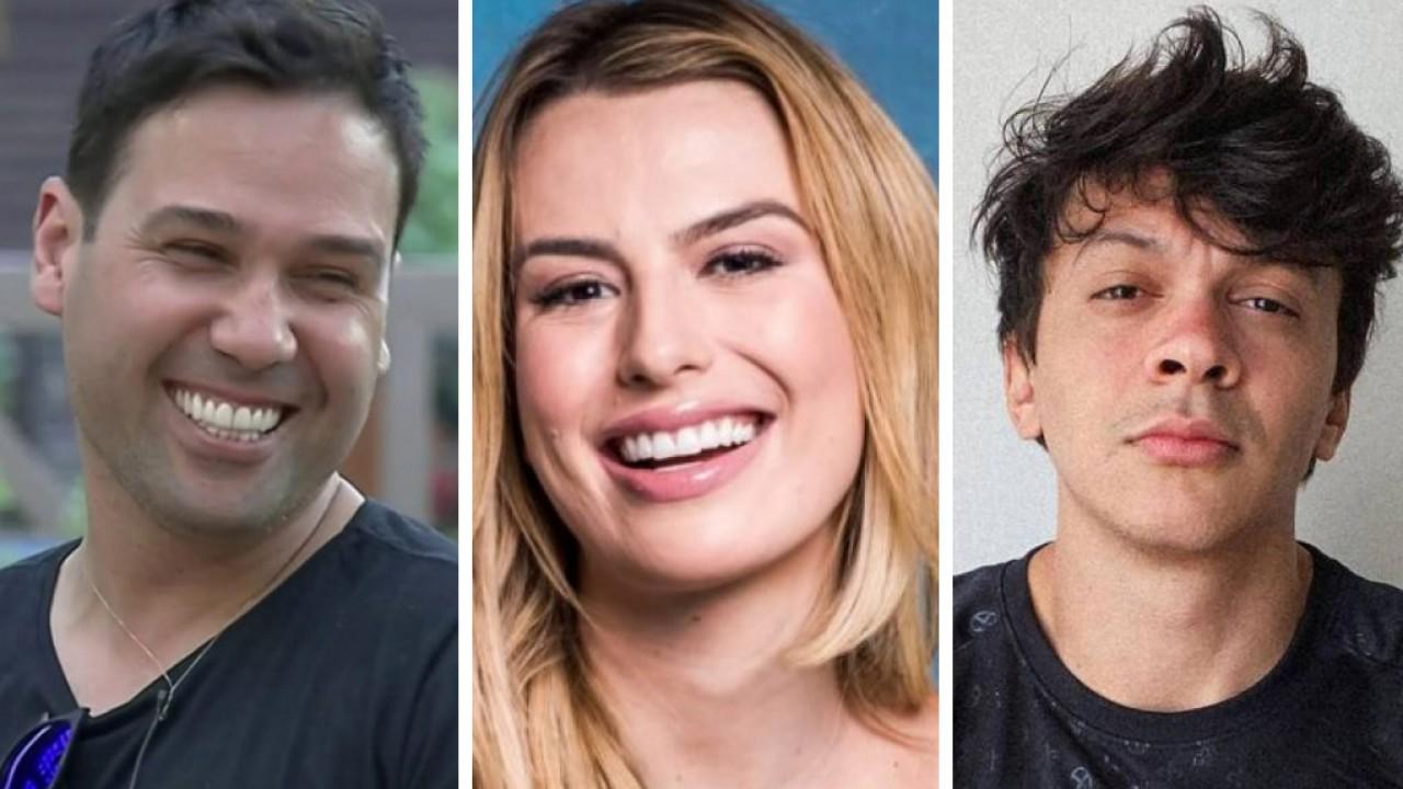 Viny Vieira, Fernanda Keulla e Júlio Cocielo