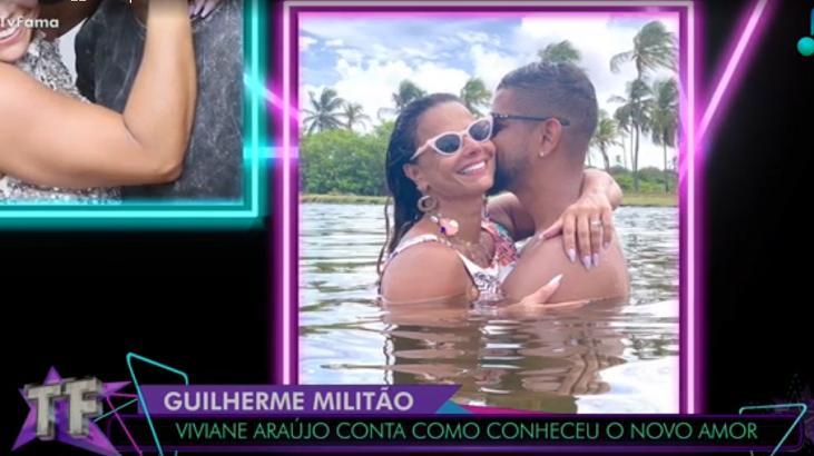 Viviane Araújo e novo namorado