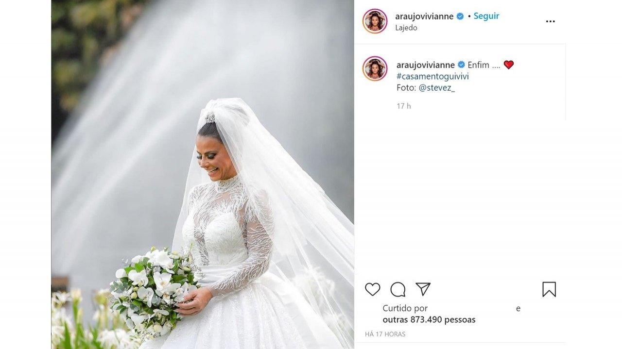 O casamento de Viviane Araújo: De cachorrinho teimoso a Dança da Cordinha