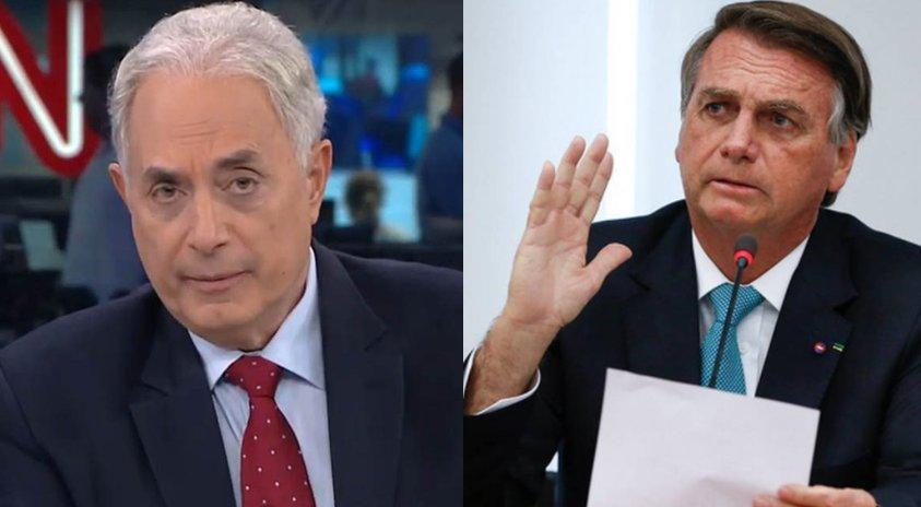 William Waack  Jair Bolsonaro
