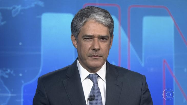 William Bonner rebate Bolsonaro no Jornal Nacional