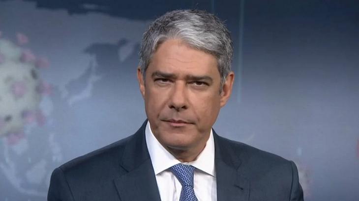 William Bonner apresenta o Jornal Nacional
