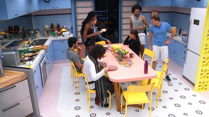 Brothers na cozinha da Xepa do BBB21