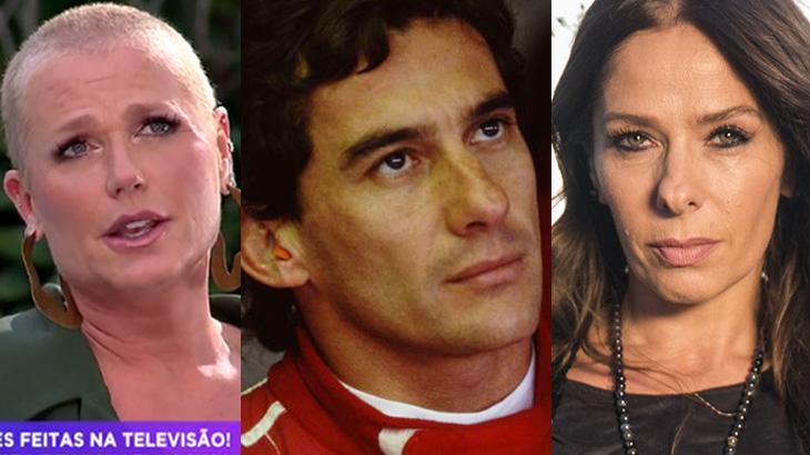Xuxa, Ayrton Senna e Adriane Galisteu