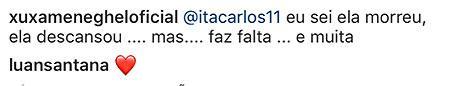 """Xuxa fala da falta que Dona Alda faz e lamenta: \""""está difícil\"""""""