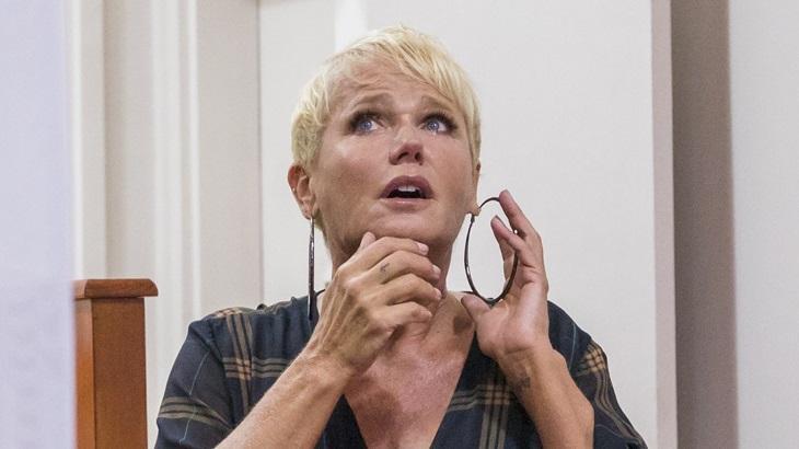 Xuxa participou do quadro Visitando o Passado, do Caldeirão do Huck