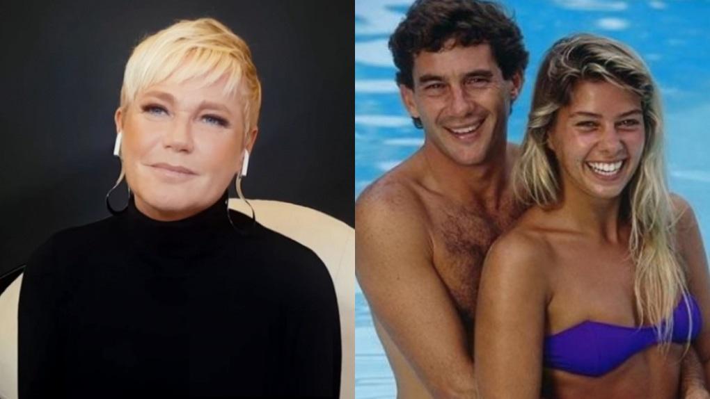 Xuxa namorou Ayrton Senna; anos depois, ele ficou noivo da então modelo Adriane Galisteu