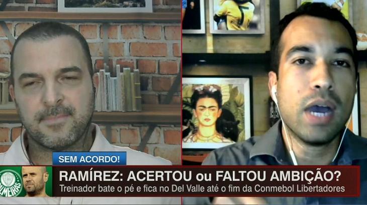 Zé Elias e Breiller discutiram na ESPN Brasil