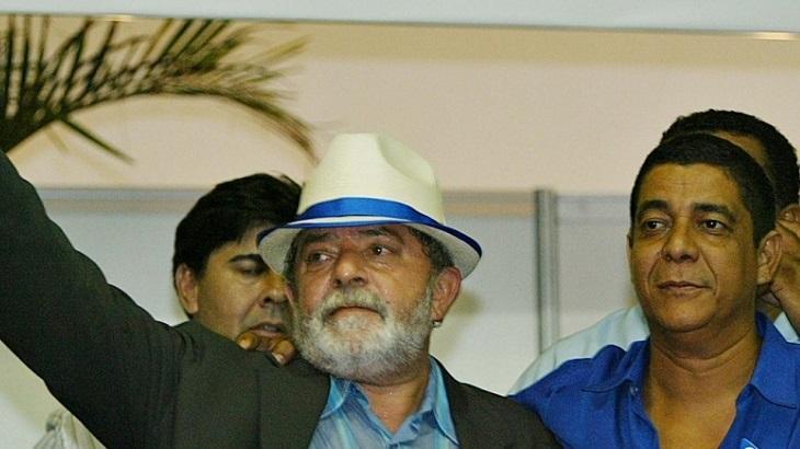 Lula e Zeca Pagodinho juntos